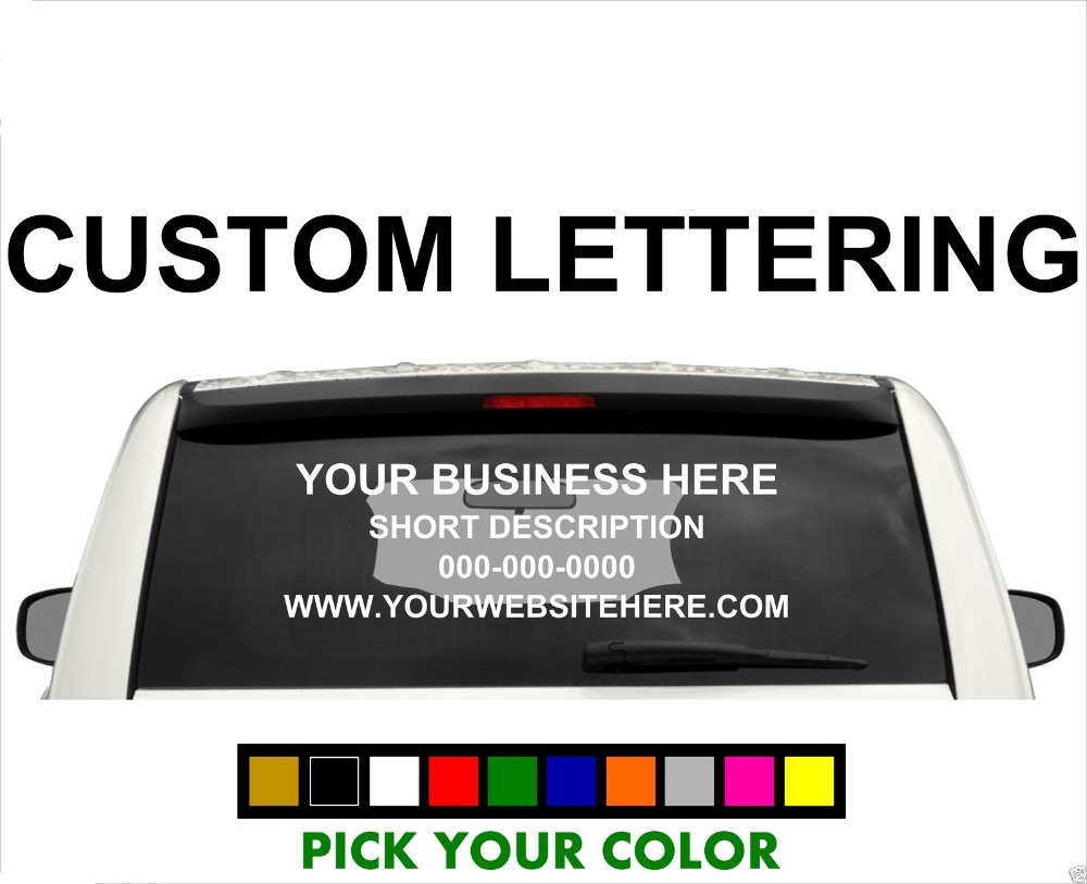 -CUSTOM-BUSINESS-LETTERING-Text-Sign-Car-Truck-Van-font-b-Vinyl-b-font-Decal-font